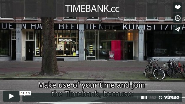 Introduction video to Timebank.cc